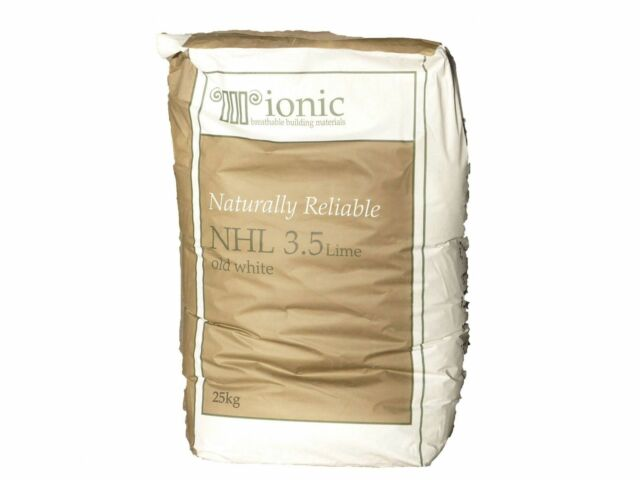 Ionic Natural Hydraulic Lime Nhl 3.5 Old White (25Kg) x10