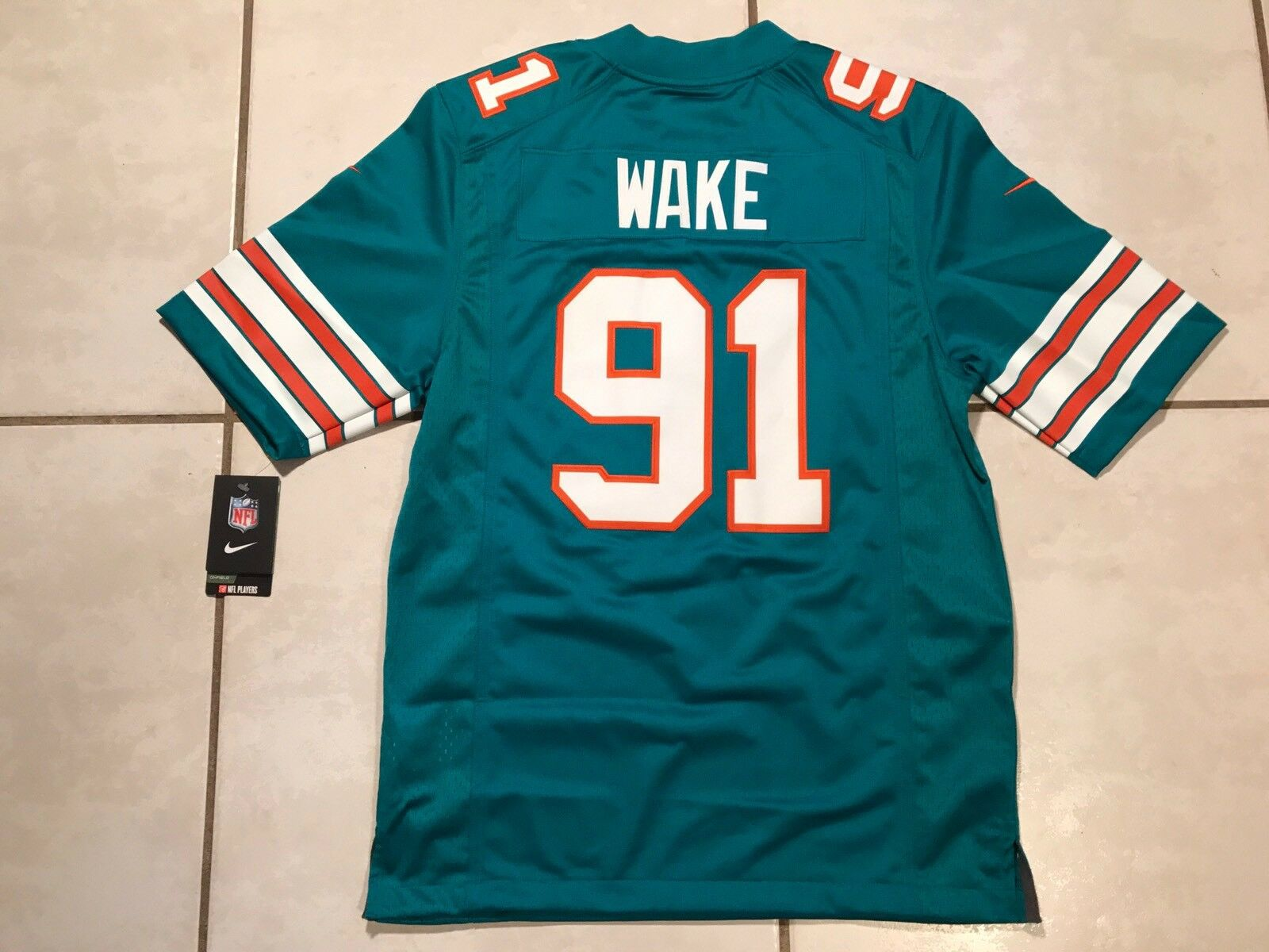 miami dolphins alternate jersey