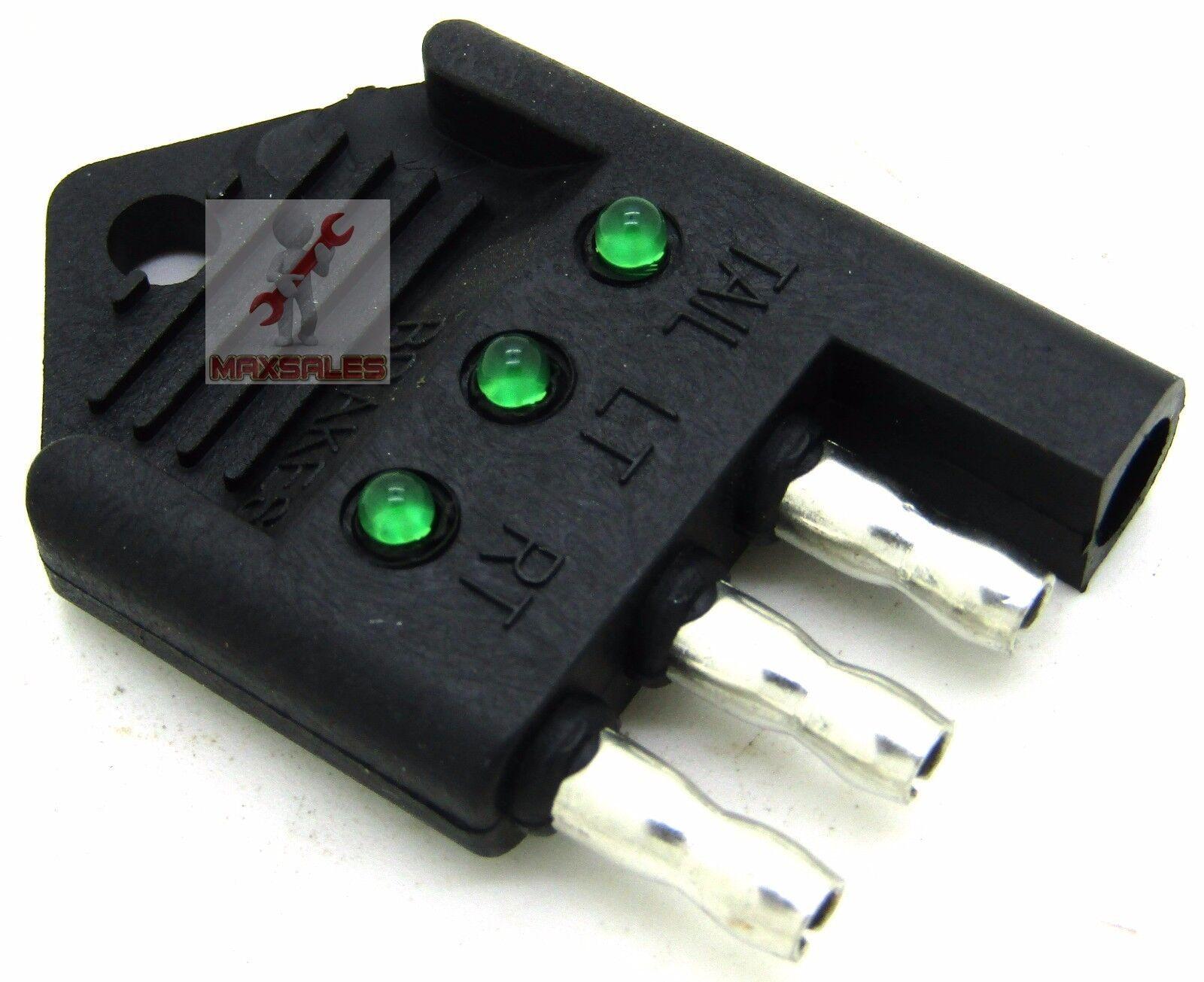 Cal Hawk 4 Way Trailer Light Tester Circuit Functions Brake Signal ...