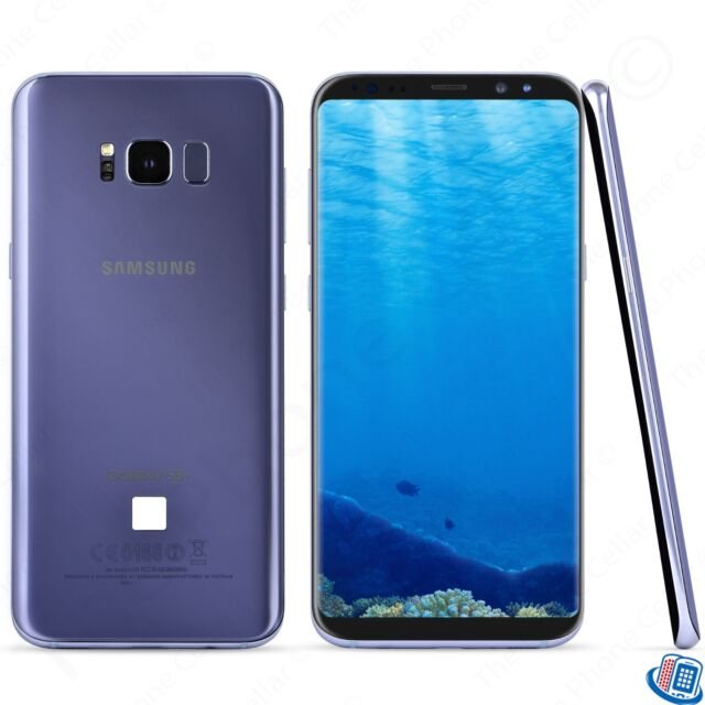 samsung galaxy s8 plus 64gb orchid gray t mobile ebay. Black Bedroom Furniture Sets. Home Design Ideas