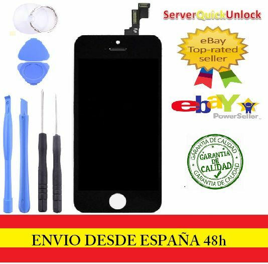 Screen Full LCD Touch Retina For iPhone 5S Black Black + Tools
