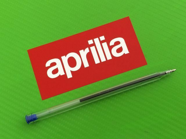 Aprilia small decals stickers for road bike or fairing pair 91s