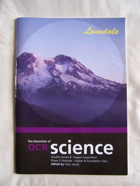 THE ESSENTIALS OF OCR SCIENCE: PHASE 2 (SCIENCE REVISION GUIDES) Very Good Condi