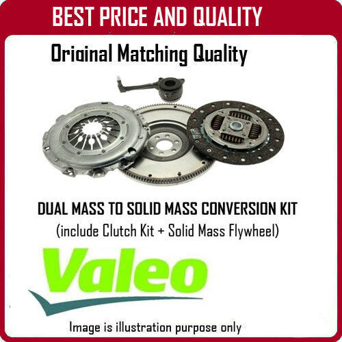 835040 GENUINE OE VALEO SOLID MASS FLYWHEEL AND CLUTCH  FOR VOLKSWAGEN PASSAT