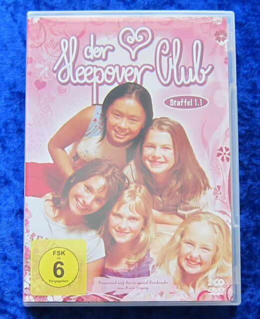 Der Sleepover Club Staffel 1.1 Folgen 1 - 13, 2 DVD Box Season