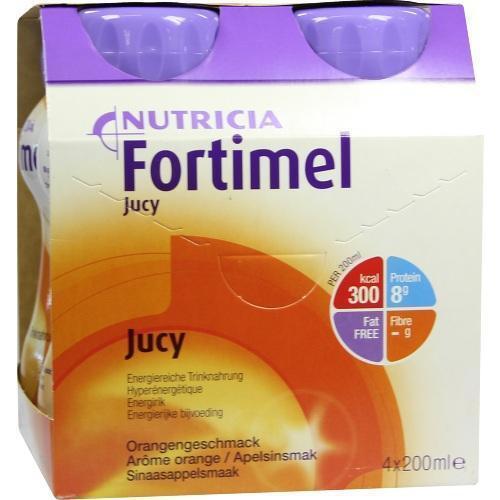FORTIMEL Jucy Orangengeschmack 4X200ml PZN 1124885