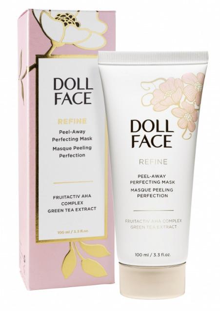 Doll Face Beauty Refine Peel-Away Refining Gel Mask, 3.3 fl. oz Garden - Cream Wafers - Cappuccino Flavour (Net Wt. 7 Oz.)