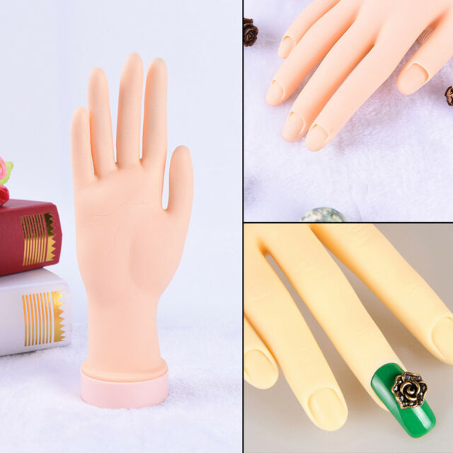 Practice Right Hand Model for Nail Art Training and Display Manicure ...