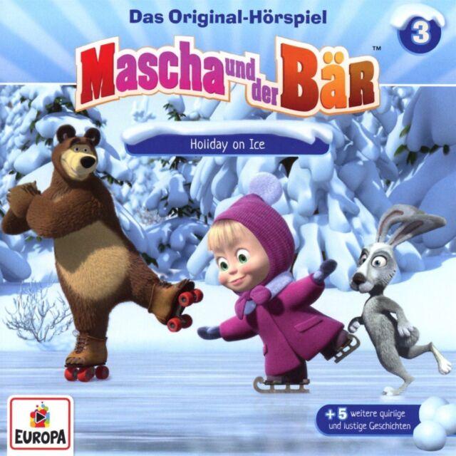 CD * MASCHA UND DER BÄR - HÖRSPIEL 3 - HOLIDAY ON ICE # NEU OVP =