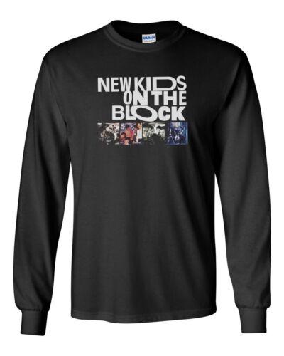 96c460317 Gildan New Kids On the Block Tour NKOTB Custom Mens Long Sleeve T-Shirt Tee