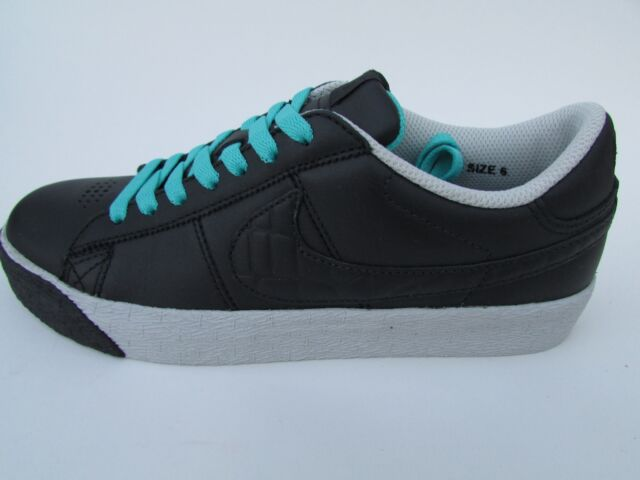 NIKE MENS BLAZER LOW PREMIUM BLACK SIZE 6 #317070001