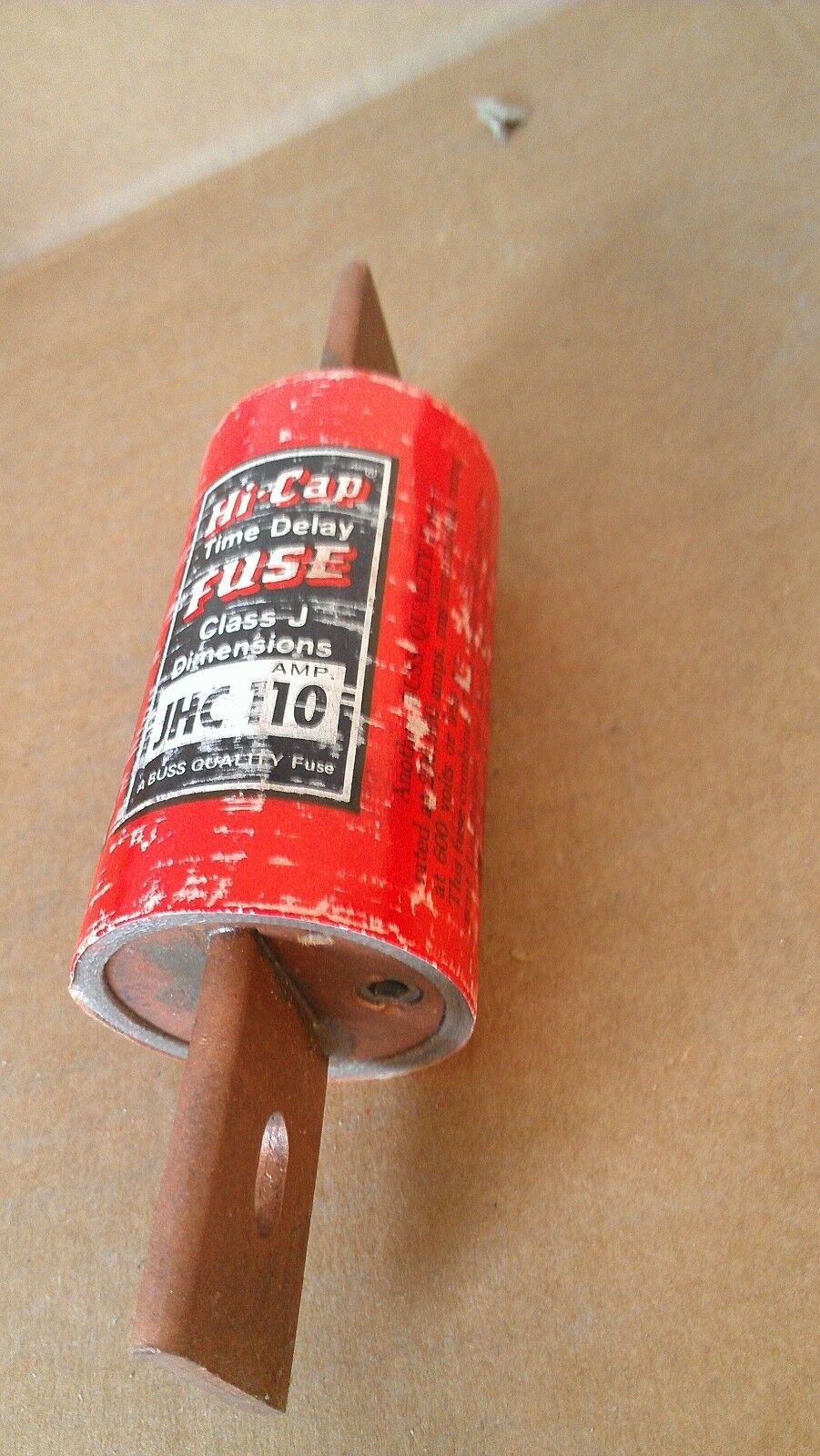Old Stock Buss Jhc110 110 Amp Fuse 600 Vac Hi Cap Time Delay Class J S Type Box Picture 1 Of