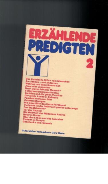 Hans Werner Dannowski - Erzählende Predigten II - 1987