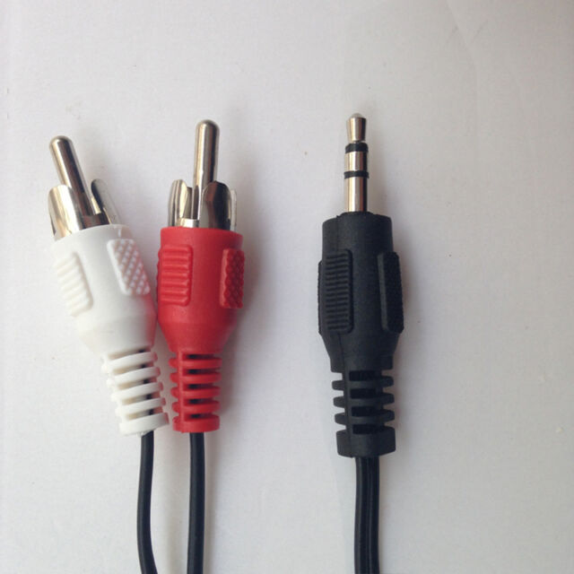 s l640 female mini plug to 2male rca jack 3 5mm audio speaker cable  at panicattacktreatment.co
