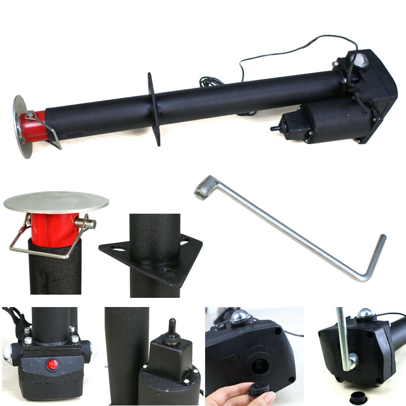 12v 3500 Lbs Electric Power Tongue Jack RV Utility Boat A-frame ...