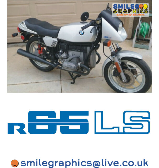 BMW Rls Motorcycle Logos Stickers Decals Badges Blue X EBay - Motorcycle custom stickers and decals uk
