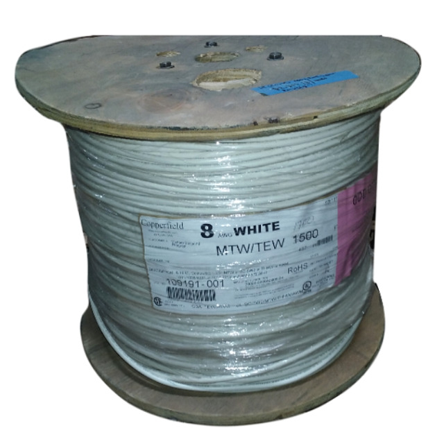 Copperfield Cable 1500ft 8 AWG 600v E175040 Moisture Resistant ...