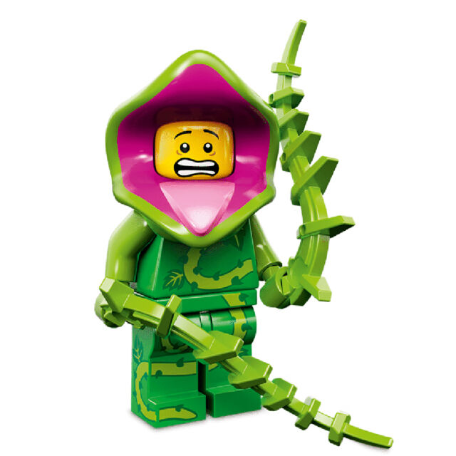 Plant Monster - Lego 71010 Minifugres Series 14 Include All Parts ...