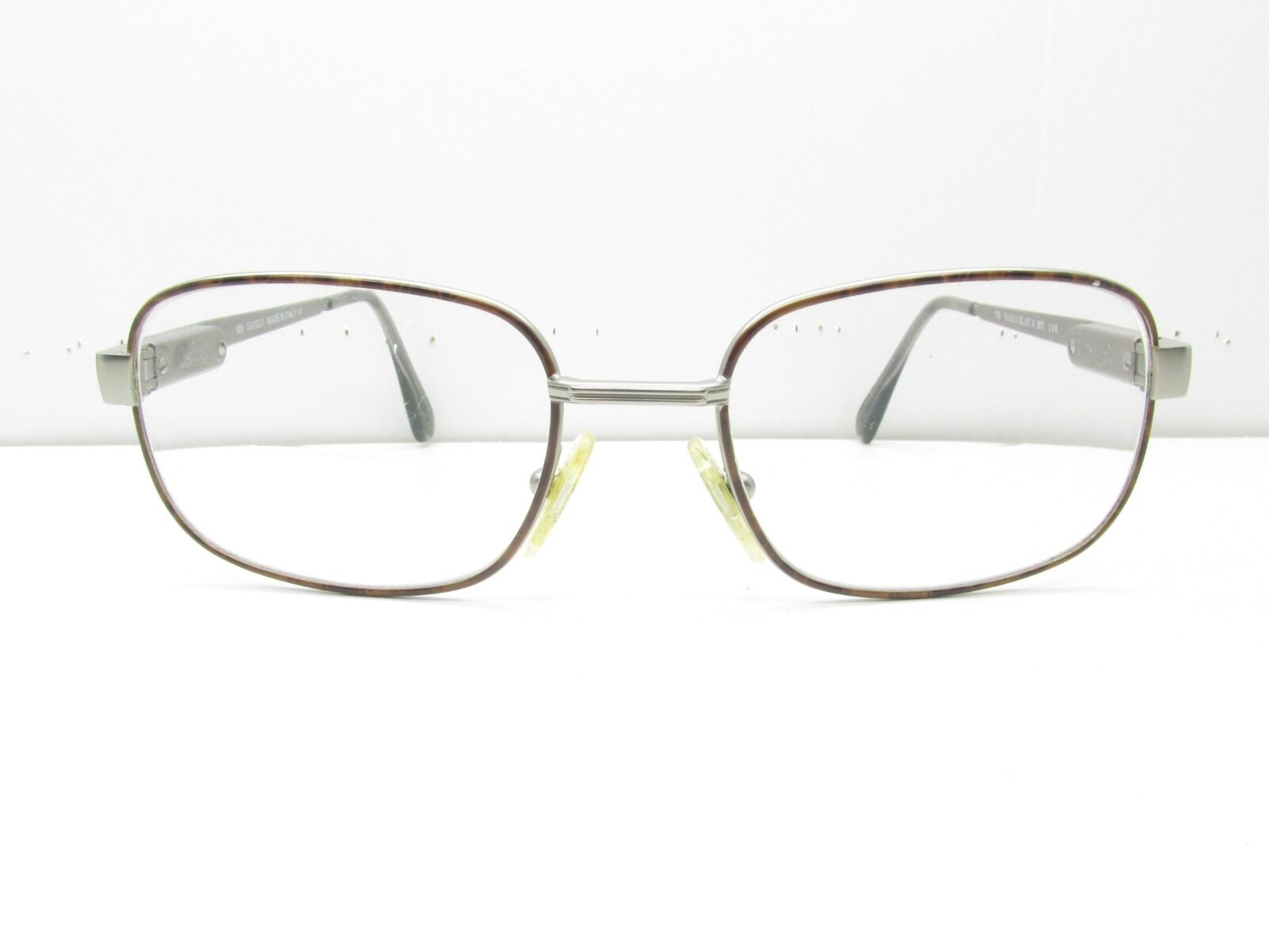 Safilo Elasta 3071 Eyewear Frames 53-18-135 Silver Tortoise ...