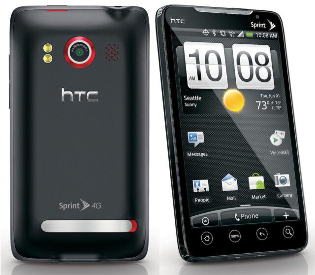 HTC Evo 4G Sprint Wireless Cellphone 16GB Android smartphone