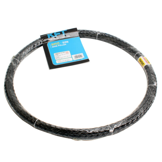 Electricians Fish Tape Wire Cable Puller 6mm 30m 98ft   eBay