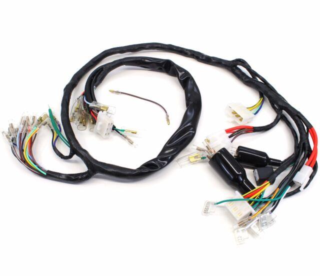 76 honda cb750 cb 750 f oem main wiring harness electrical loom ebay rh ebay com 1978 cb750 wiring harness cb750 wiring harness diagram