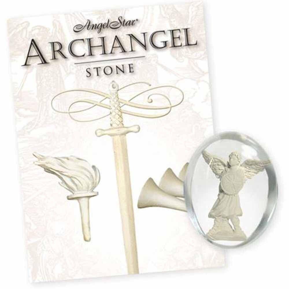 Angelstar 17153 Michael Archangel Pocket Stone Ebay