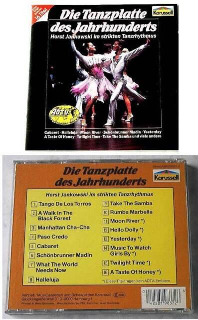 HORST JANKOWSKI Die Tanzplatte des Jahrhunderts .. ADTV Spectrum CD TOP