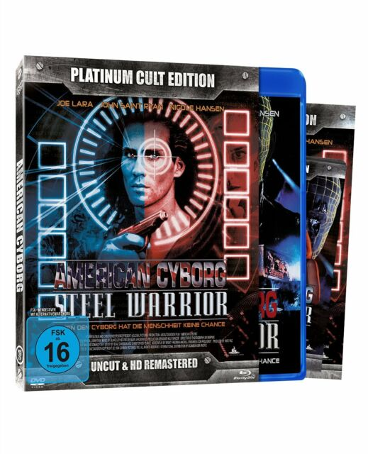 American Cyborg - Nicole Hansen,Joe Lara - (PCE-Nr.26) - Blu Ray + DVD
