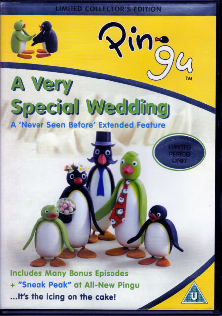 Pingu - A Very Special Wedding (extended special) plus 7 episodes R2 DVD