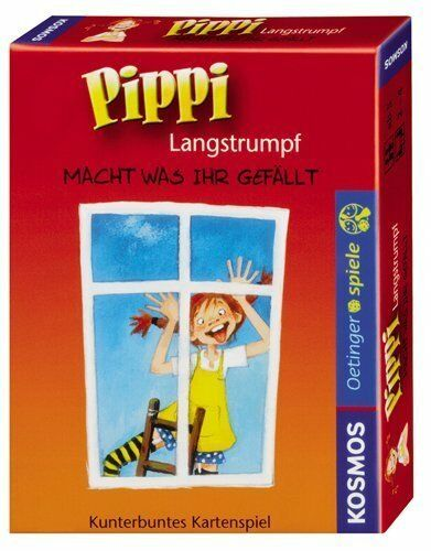 KOSMOS 741266 - Kartenspiel Pippi Langstrumpf
