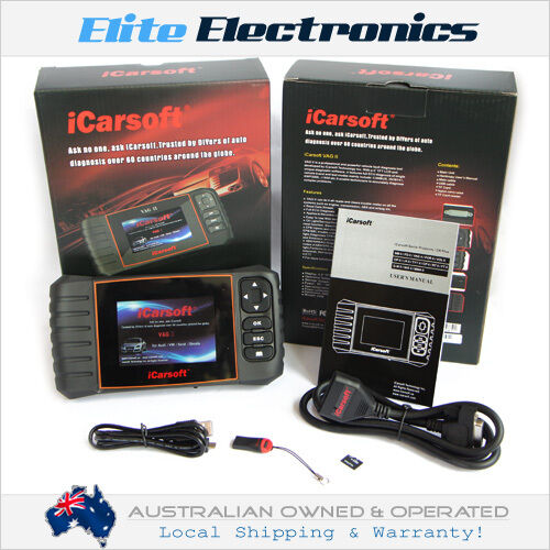 ICARSOFT CR PLUS PROFESSIONAL OBD2 CAR DIAGNOSTIC CODE SCANNER TOOL 2ND GEN