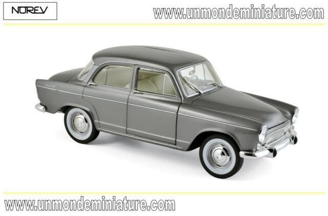 Simca Aronde Monthléry Spéciale 1962 Grey Metallic NOREV - NO 185717 - Ech 1/18