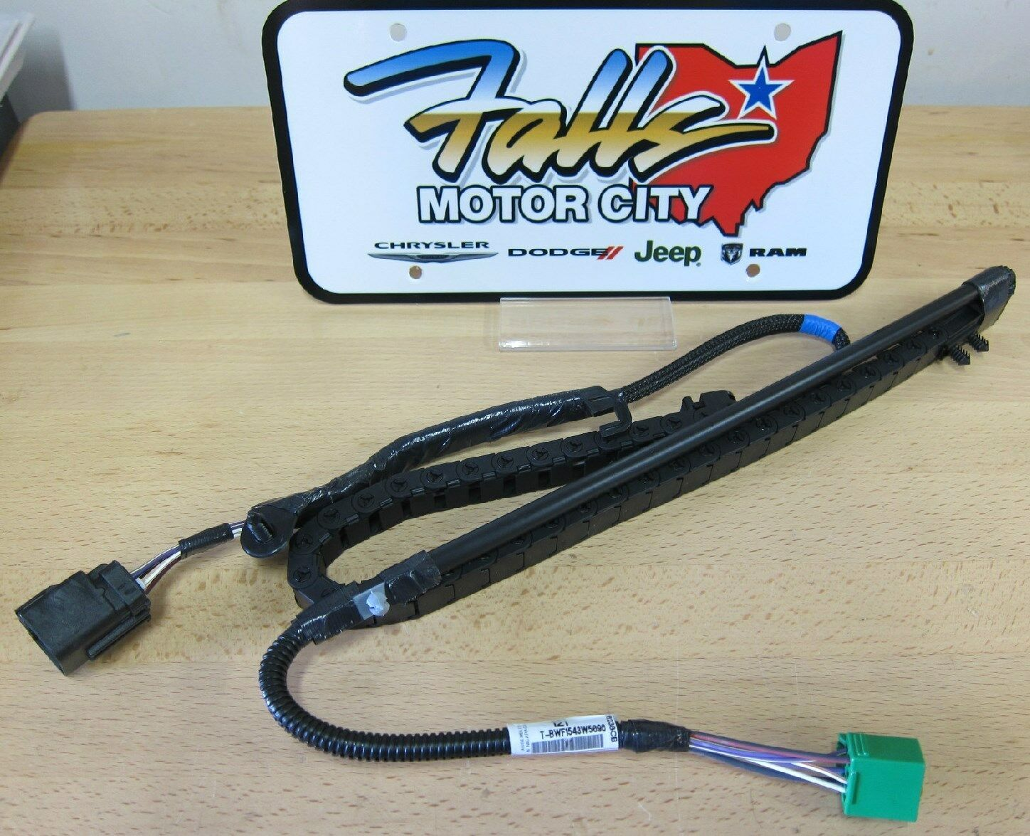 s l1600 town & country grand caravan sliding door wire track harness  at aneh.co