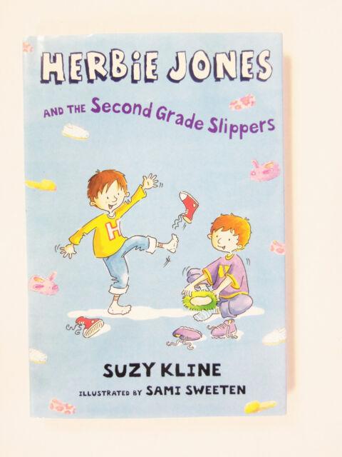 Herbie Jones & the Second Grade Slippers by Suzy Kline Hardcover  2006