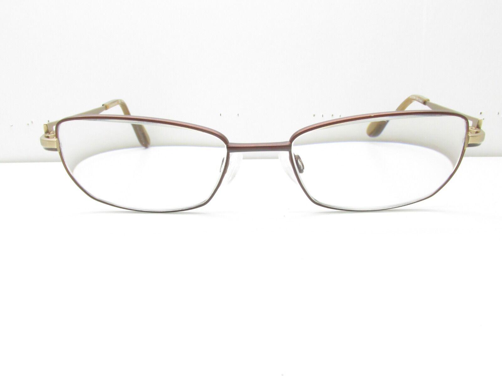 Charmant CH10891 Eyewear Frames 50-17-135 Brown Rectangle Tv0 32089 ...