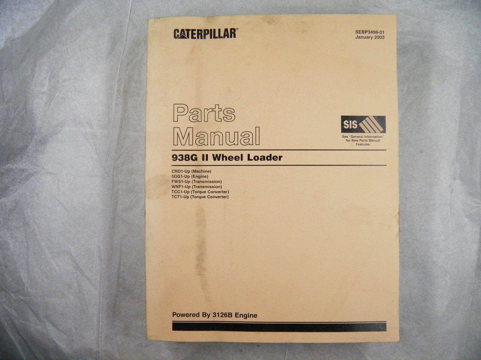 Cat Parts Diagram Car Names Wiring Database 3204 Engine Caterpillar 938g Ii Manual Book Catalog Wheel Loader Crd1 Chart