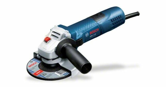 Bosch GWS7-115 240v 115mm 4.1/2in angle mini grinder 3 year warranty option