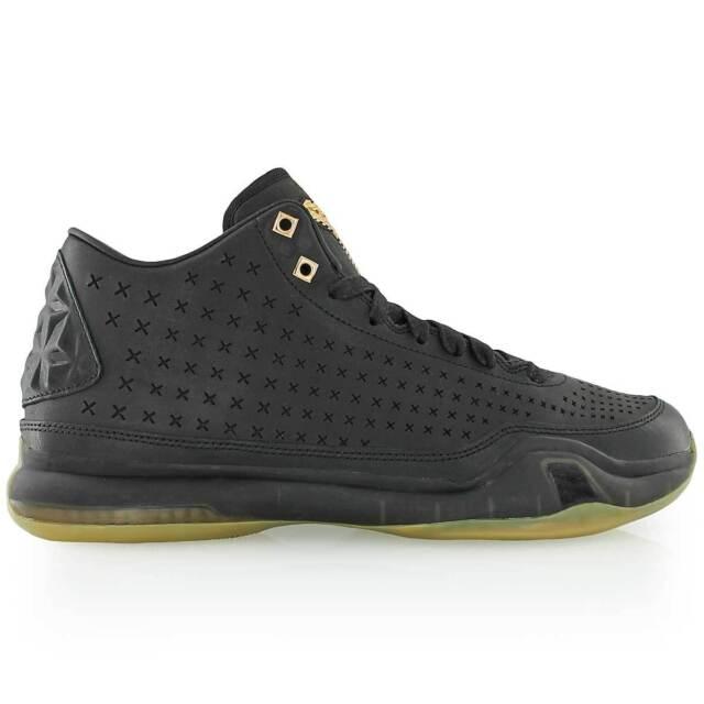 Men Nike Kobe Bryant X Mid EXT Black Gum Athletic Basketball Sneakers  802366 002