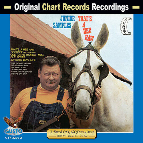Junior Samples - That's a Hee Haw [New CD]