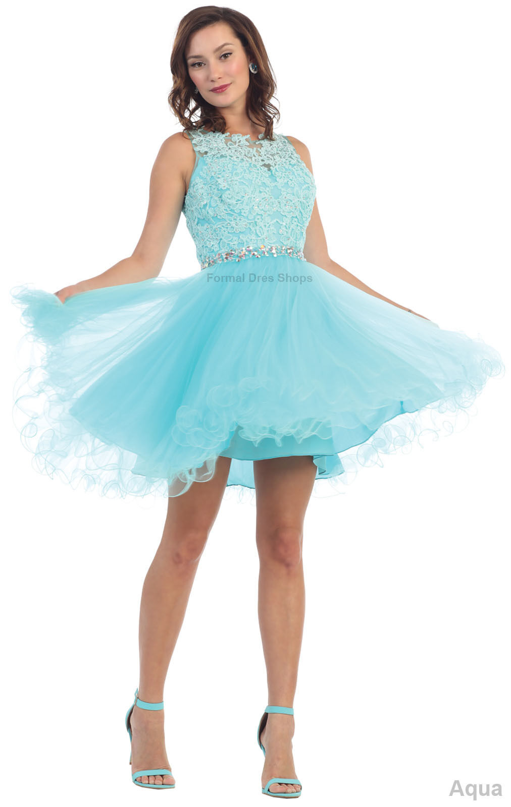 Demure Bodice Short Prom Dresses Cocktail Homecoming Sweet 16 Semi ...