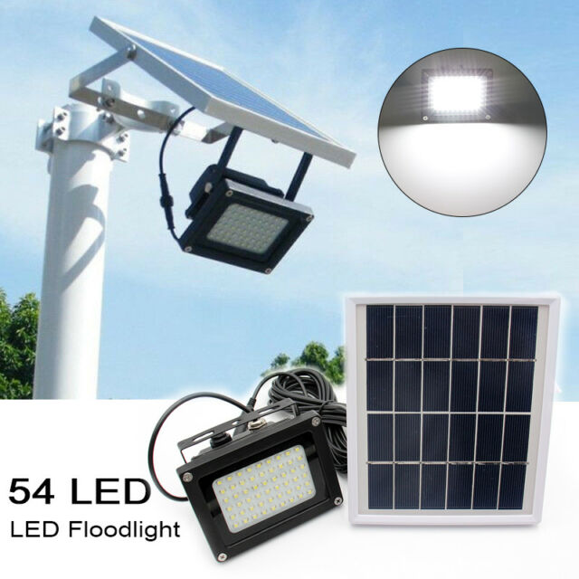 54 led waterproof solar powered sensor flood light outdoor garden 54 led waterproof solar powered sensor flood light outdoor garden security lamp workwithnaturefo