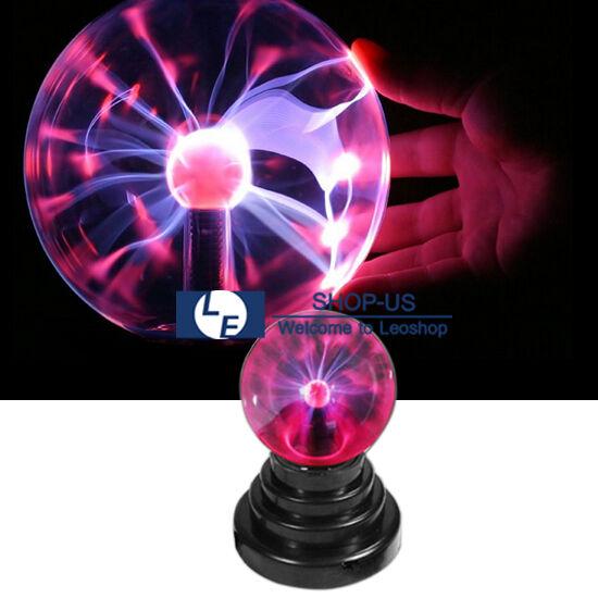 New USB Magic Crystal Globe Desktop Light Lightning Lamp Plasma Ball Sphere