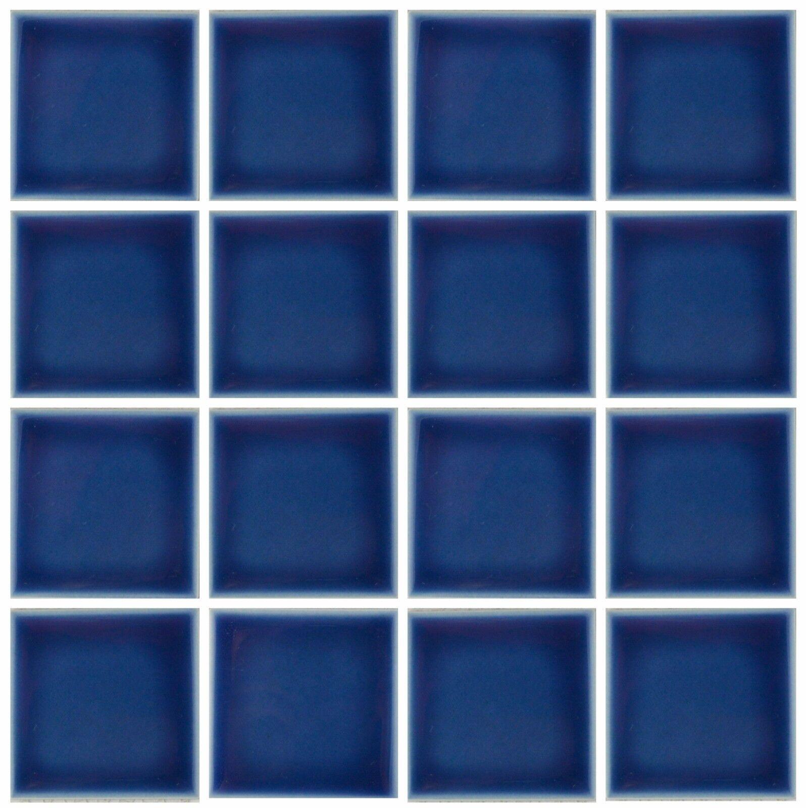 navy blue tile