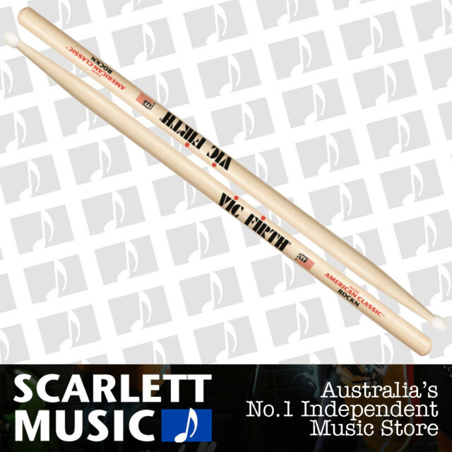 Vic Firth American Classic  Rock Drumsticks with Nylon Tip - ROCKN / ROCK'N