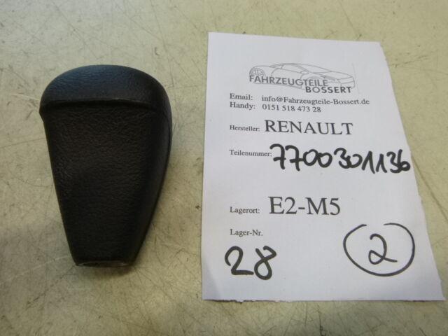 Renault Master Trafic Schalthebel Schaltknauf knob gear 77 00 301 136 schwarz