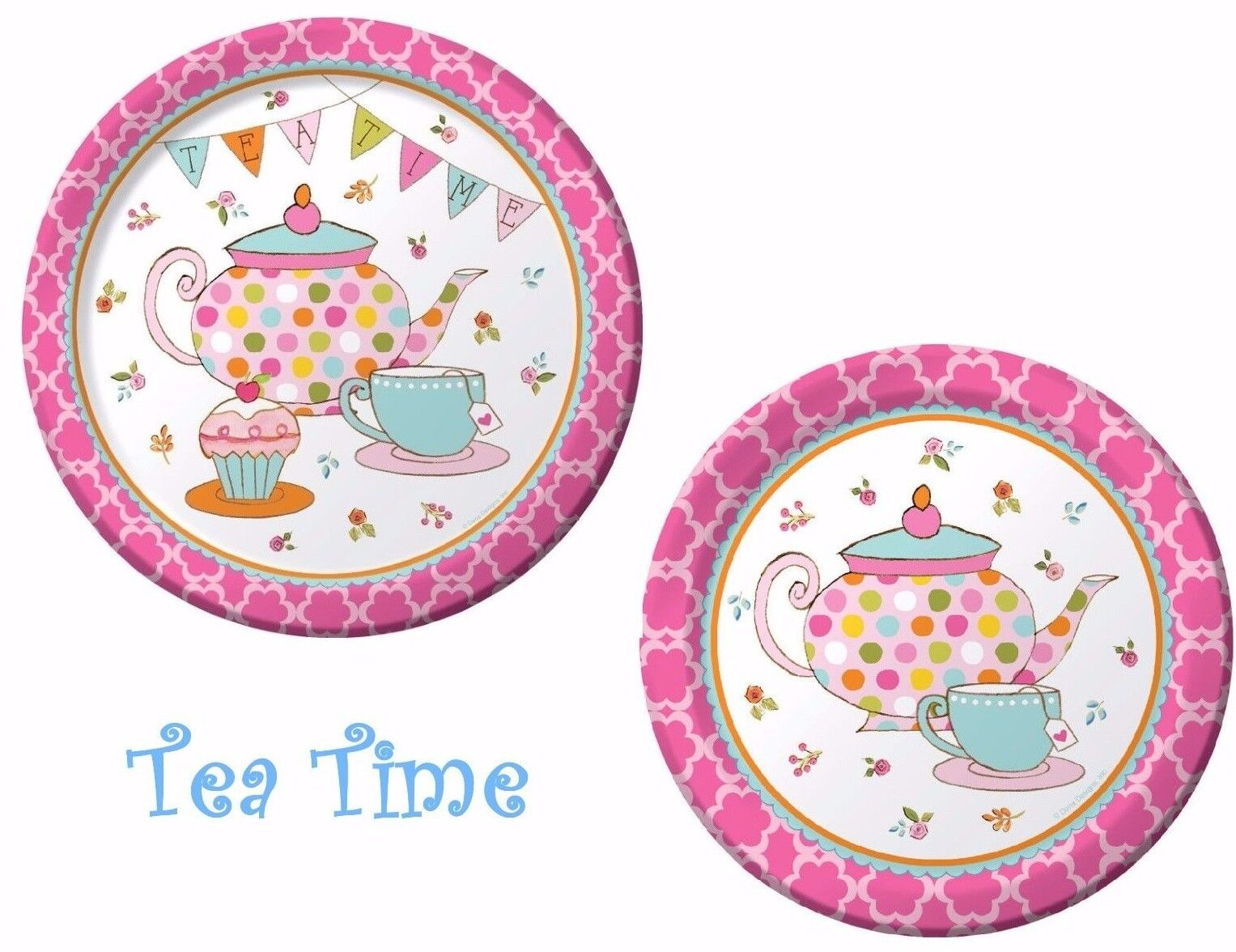 creative converting 8 count paper dinner plates tea time ebay
