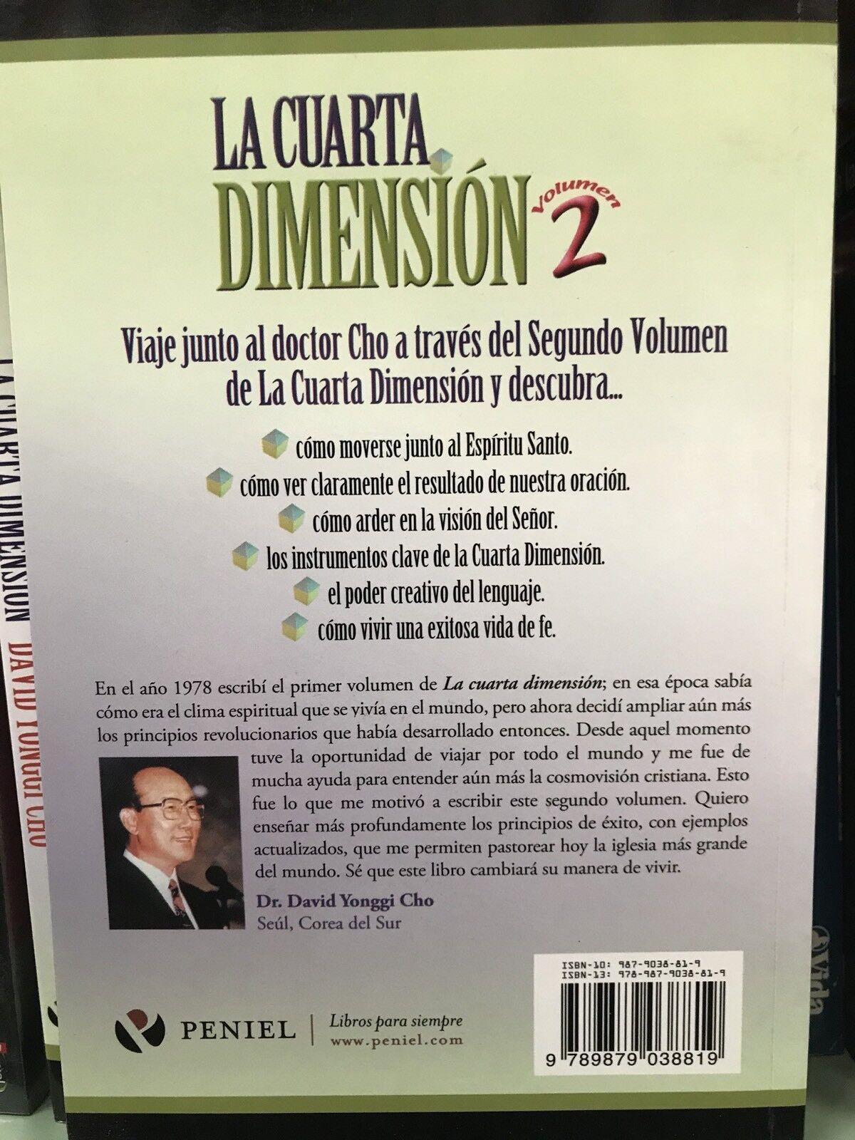 La Cuarta Dimension Vol. 2 : More Secrets for a Life of Success by ...