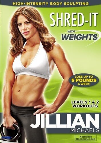 JILLIAN MICHAELS: SHRED IT WITH WEIGHTS (DVD) (New)