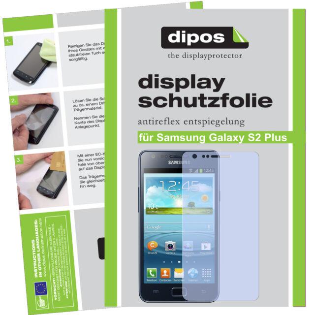 1x Samsung Galaxy S2 Plus Schutzfolie matt Displayschutzfolie Antireflex